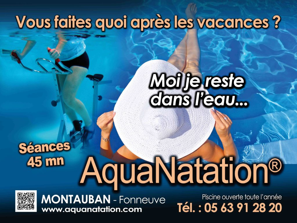 AQUANATATION - Piscine aquagym et aquabike - Montauban