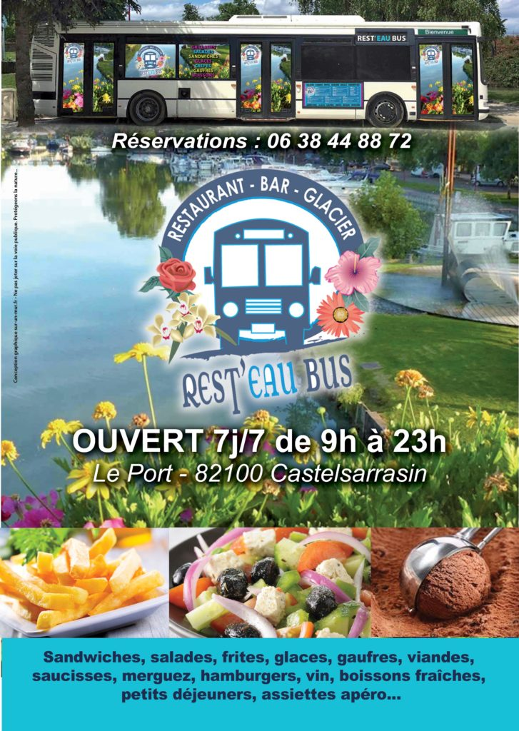 REST'EAU BUS - Foodtruck - Castelsarrasin