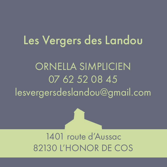 VERGERS DES LANDOU - Producteurs de fruits - L'Honor de Cos